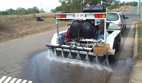 Integrated Water Sprayer System