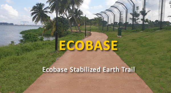 Ecobase Stabilized Earth Trail