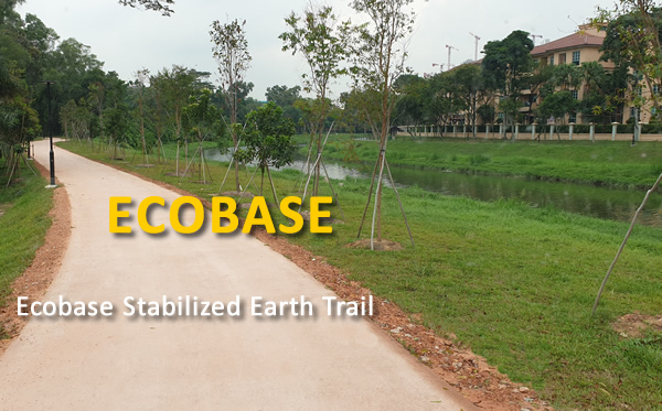 Ecobase Stabilised Earth Trail